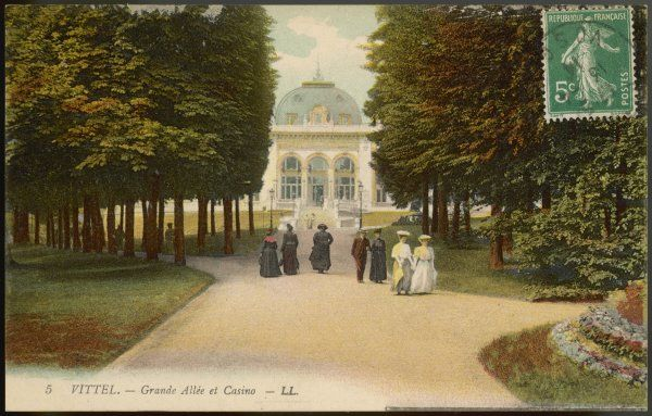 The Grande Allee leading to the Casino