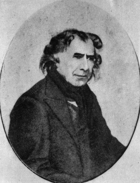 FRNCOIS ARAGO French physicist, photographed in his last year among us. Date: 1756 - 1853