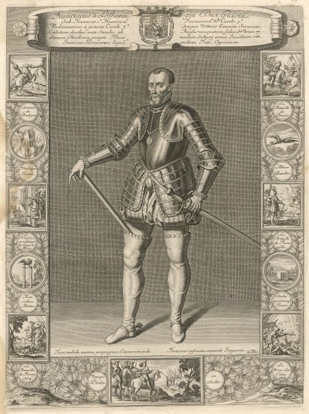 FRANCOIS DE LORRAINE, duc de GUISE French military, Connetable de France, served under Francois I, Henry II, Francois II and Charles IX