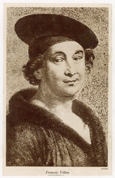 FRANCOIS VILLON French poet
