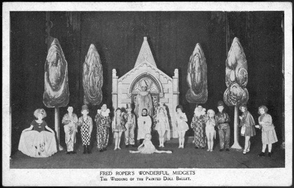 FRED ROPER'S WONDERFUL MIDGETS The wedding of the Painted Doll ballet