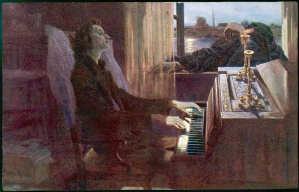 FREDERIC CHOPIN Polish musician 'the last notes&#39