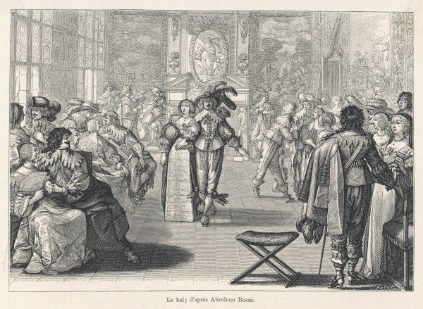 A ball at the French court