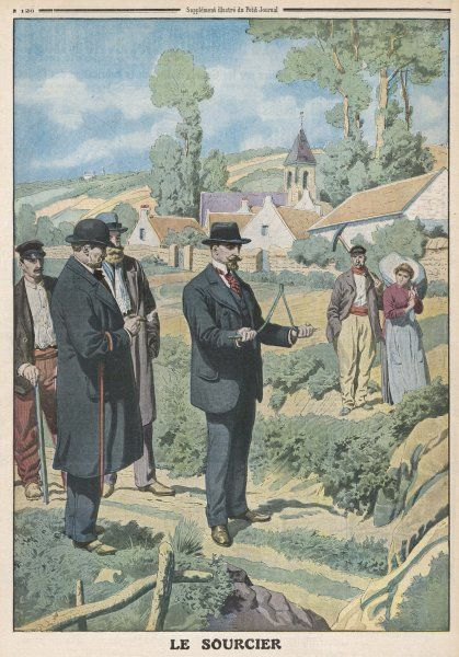 Near Paris, a Congress of Experimental Psychology holds a successful demonstration of dowsing
