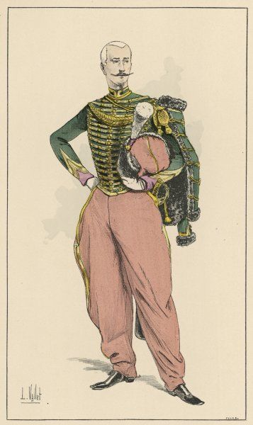 An officer of the French 'Soldiers of the Guard' (2nd Empire)