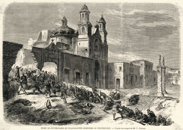 FRENCH EXPEDITION The French take Puebla