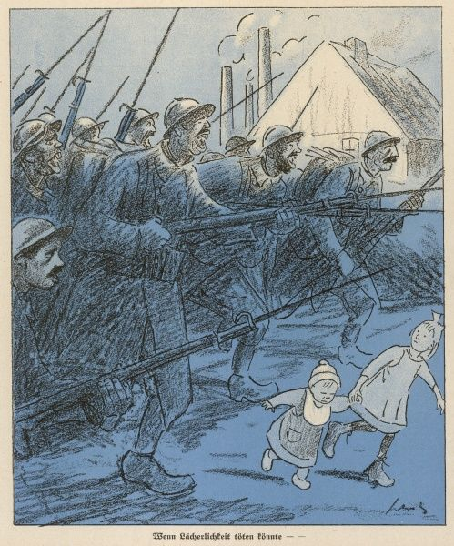 The French heroes in the Ruhr - a German view of the French occupation