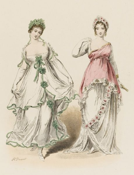 Two Frenchwomen of the Consulat period