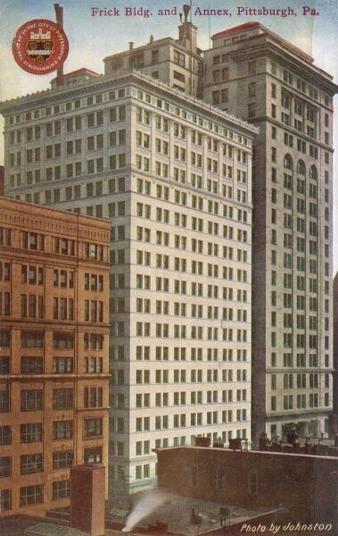 Frick Building and Annex, Pittsburgh, Pennsylvania Date: 1910