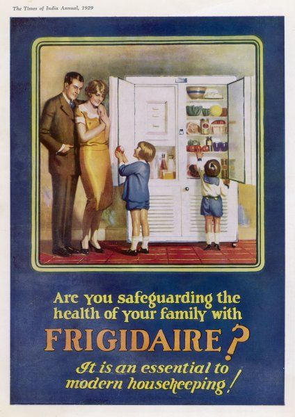 A family happy with their Frigidaire