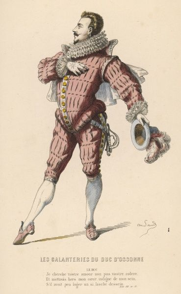 'Le Duc D'Ossonne' A character from 'Alizon' by L.C.Discret