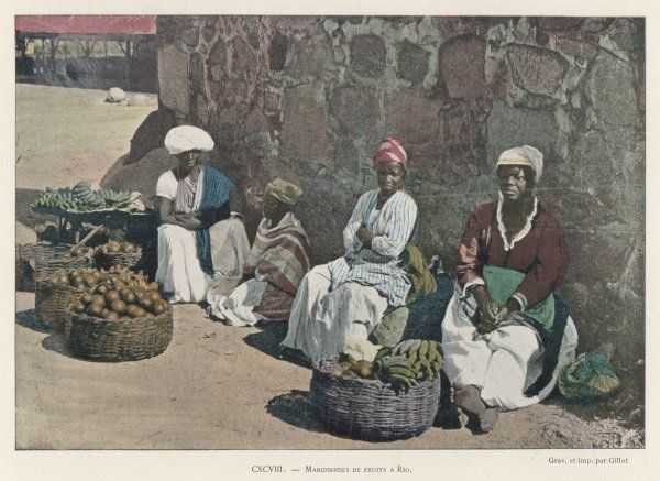 Fruit vendors in Rio