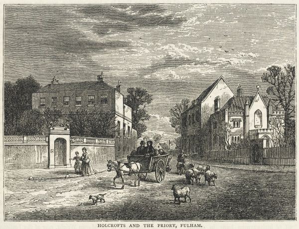 Holcrofts and the Priory, Fulham
