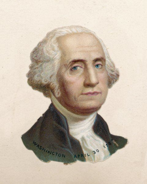 GEORGE WASHINGTON First American President