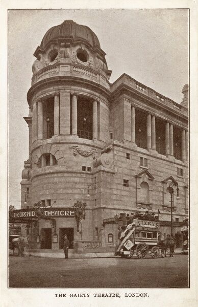 The Gaiety Theatre, London Date: circa 1909