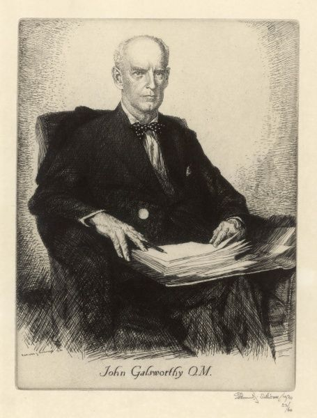 JOHN GALSWORTHY playwright and novelist
