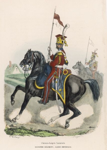 Light Horse Lancer of the Imperial Guard