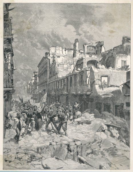 THE RISORGIMENTO Garibaldi and his '1000' enter Palermo, Sicily, overcoming fierce resistance