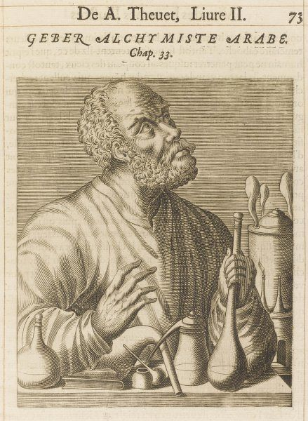 GEBER Either the Arabian alchemist of the 8th to 9th centuries or the 14th century Spanish alchemist who wrote under the same name