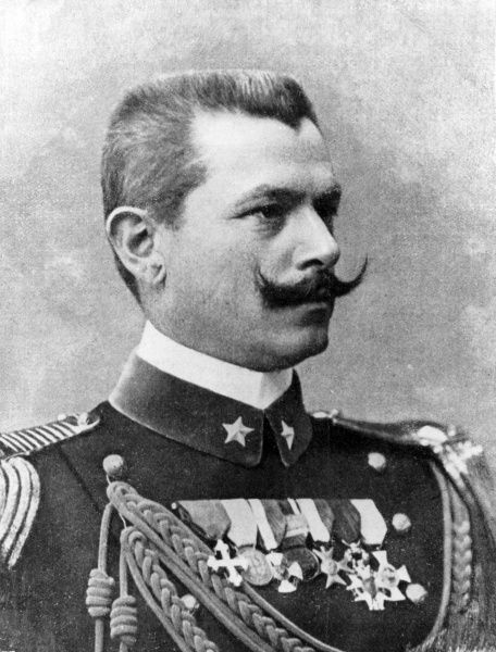 General Gaetano Giardino (1864-1935), Italian soldier who rose to the rank of Marshal of Italy during the First World War. He replaced General Cadorna on the Inter-Allied War Council at Versailles. Date: circa 1918