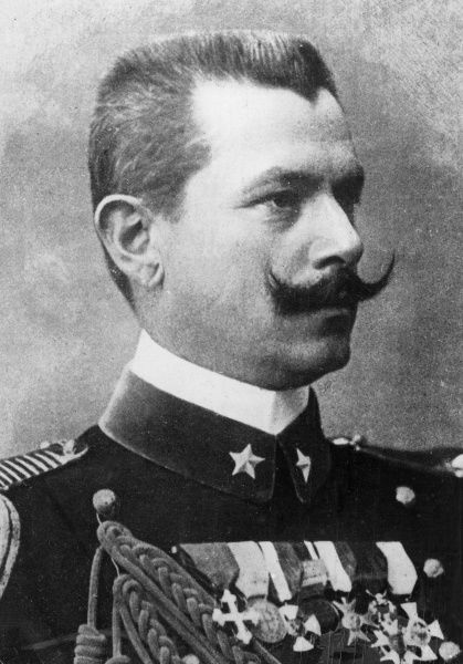 General Gaetano Giardino (1864-1935), Italian soldier who rose to the rank of Marshal of Italy during the First World War. He replaced General Cadorna on the Inter-Allied War Council at Versailles.  circa 1918