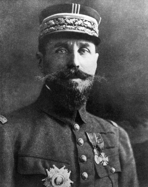 General Henri Gouraud (1867-1946), French Army commander during the First World War. Date: 1914-1918