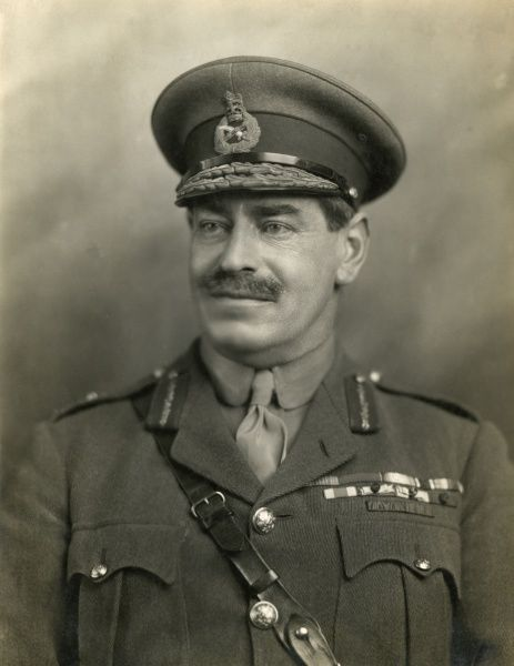 Major General Sir Herbert Crofton Campbell Uniacke (1866-1934), British officer with the Royal Artillery during the First World War. Seen here in a head and shoulders studio photo. Date: circa 1914-1918