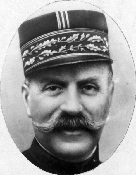 General Joseph Joffre (1852-1931), Commander of the French Army during the first half of the First World War. Date: early 20th century