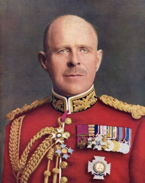 General John Standish Surtees Prendergast Vereker, 6th Viscount Gort (1886-1946), commander in chief of the British Expeditionary Force in France in 1939 and 1940