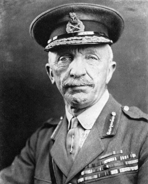 General Sir Henry Hughes Wilson (1864-1922), British army officer, principal military adviser to Lloyd George during the last year of the war. Date: 1918