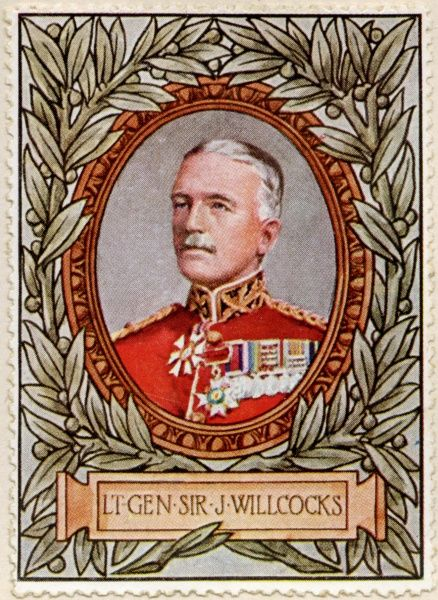 General SIR JAMES WILLCOCKS (1857 - 1926) Indian born, British Army officer
