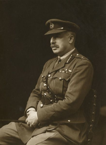 Lieutenant General Sir John Philip Du Cane (1865-1947), British army officer with the Royal Artillery during the First World War. Date: 1914-1918