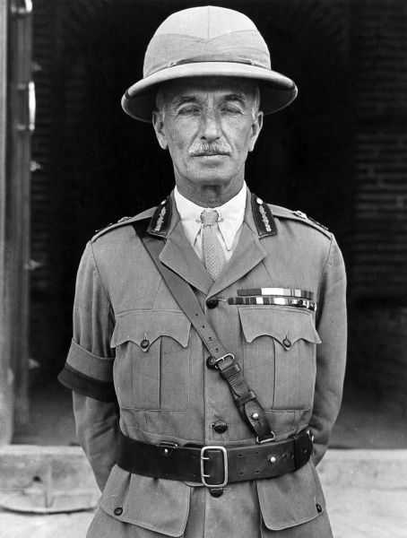 Lieutenant General Sir William Raine Marshall (1865-1939), British army officer during the First World War. In November 1917 he succeeded General Maude as Commander in Chief of the Mesopotamian Expeditionary Force. Date: circa 1917