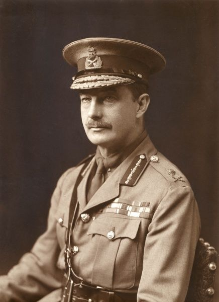 General Sir Webb Gillman (1870-1933), British army officer during the First World War. Seen here in uniform in a studio portrait. Date: 1914-1918