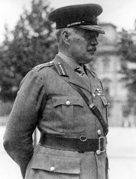 General Sir William Robertson (1860-1933), British army officer who served as Chief of the Imperial General Staff (CIGS) during the First World War, from 1916 to 1918. Date: circa 1919