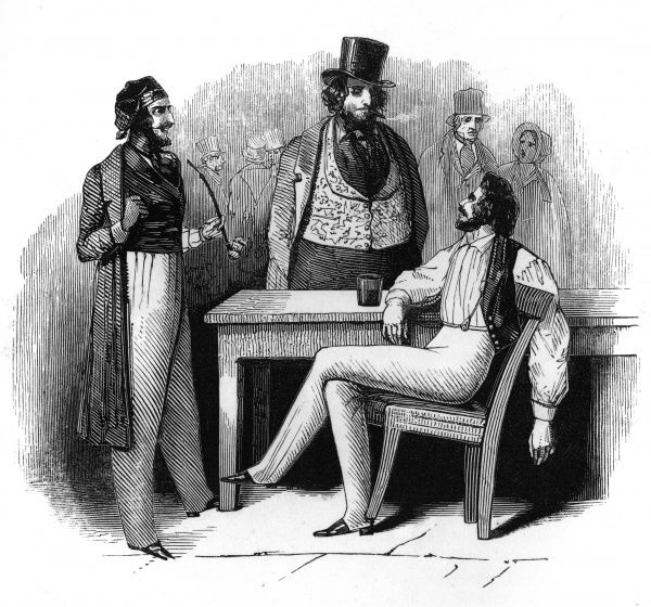 Gentlemen debtors in the Queen's Bench prison, London Date: 1842