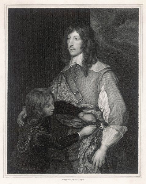 GEORGE BARON GORING, earl of Norwich. Royalist military commander who defeated Fairfax at Seacroft Moor & commanded the left wing at Marston Moor