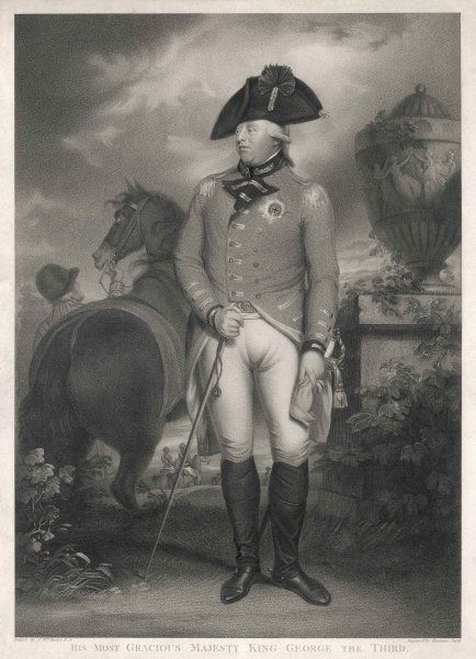 GEORGE III OF ENGLAND In 1804