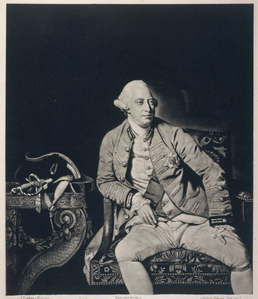 GEORGE III OF ENGLAND reigned 1760-1810 Date: 1738 - 1820