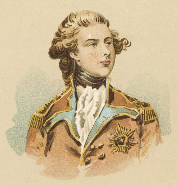 GEORGE IV OF ENGLAND - as Prince of Wales