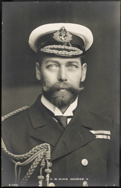 GEORGE V King of Britain (1910-36)