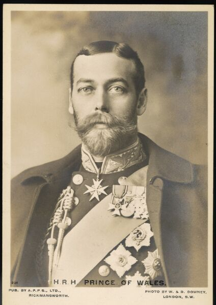 GEORGE V as Prince of Wales