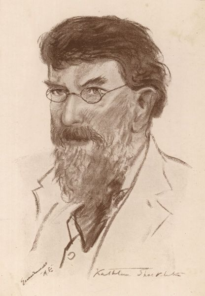 GEORGE WILLIAM RUSSELL Mystical writer and artist, using the nom-de-plume 'AE&#39