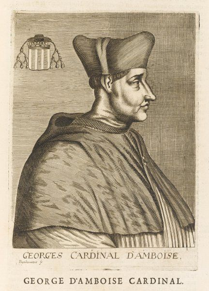 GEORGES D'AMBOISE French prelate and statesman