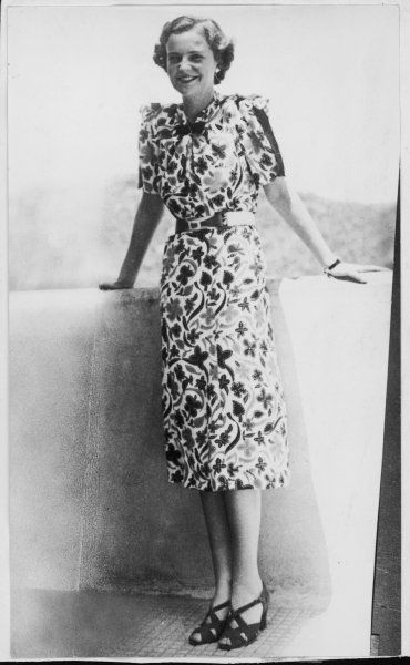 GERALDINE APPONYI VON NAGY-APPONY Daughter of Hungarian nobleman Count Gyula Apponyi de Nagy- Appony and American Gladys Virginia Stewart. Married King Zog of Albania in 1938