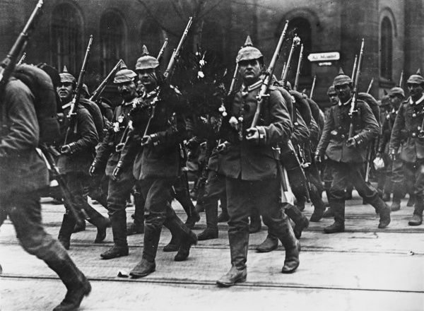 German 4th Grand Infantry in Berlin during World War I