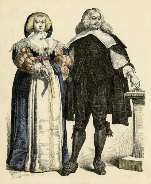 A noble German couple Date: circa 1650