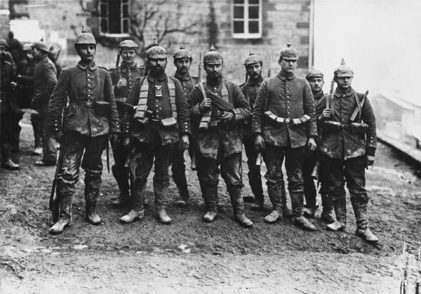 German crack soldiers on the Western front during World War I