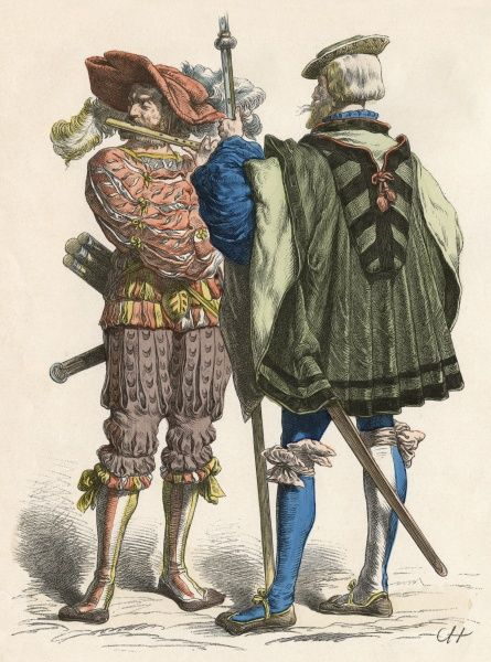 German military costumes Date