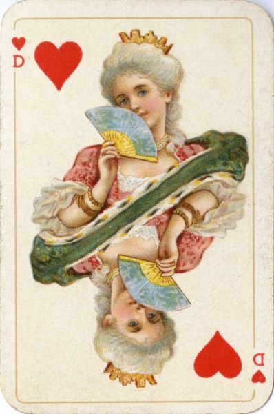 The Queen of hearts Date: 19th century